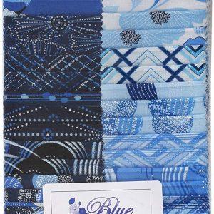 Benartex Fabric Sew Sew Pin Geo Black//Multi HALF METRE